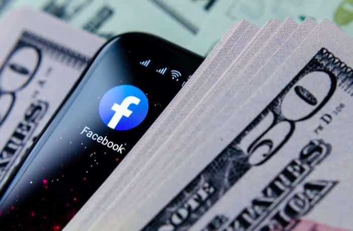 facebook taka income